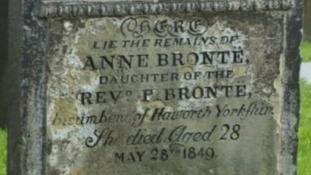 Anne Bronte's gravestone