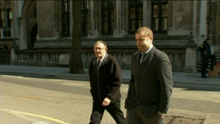 Neil Harkins and Dean Liddle, were accused of breaching the injunction by posting information on Twitter and Facebook.