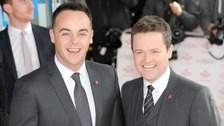 Britain's Got Talent hosts Ant and Dec.
