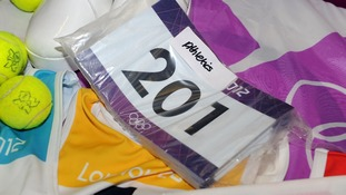 London 2012 Games items are being stored at a unit in Coventry ahead of the final sale and auction this weekend.