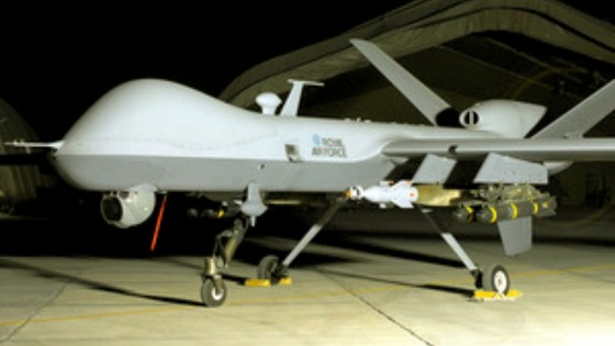 An RAF MQ-9 Reaper 