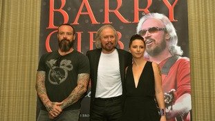 Barry Gibb now performs with his son Stephen and niece Samantha.