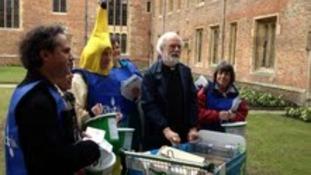 Former Archbishop of Canterbury Rowan Williams