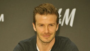 David Beckham in Berlin