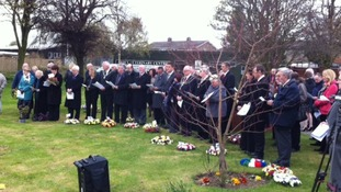 Worker's memorial service at Immingham