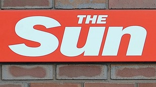The Sun headline