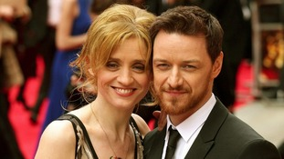 Anne-Marie Duff and James McAvoy.