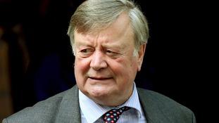Minister Without Portfolio Ken Clarke.