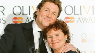 Michael Ball and Imelda Staunton picked up Olivier Awards for Sweeney Todd.