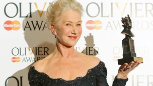 Dame Helen Mirren won Best Actress for her portrayal of the Queen in The Audience.