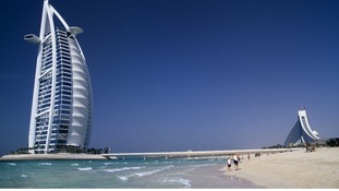 The three men were on holiday in Dubai when they were arrested