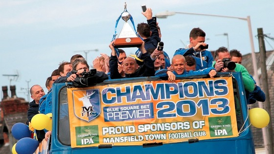 The chairman of Mansfield Town believes the club can reach the Championship