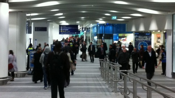 60 volunteers are on hand to guide passengers at New Street Station
