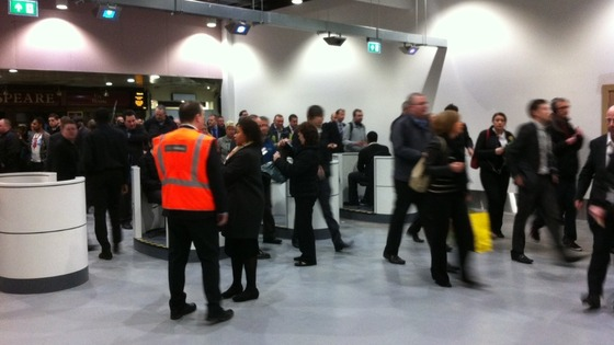 New Street Station's revamp opened for the first time yesterday (Sunday 28 April)