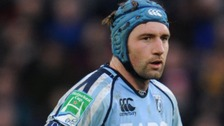 Michael Paterson in action for Cardiff Blues
