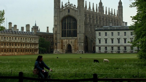 Cambridge tops the list for the third year running