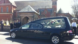 Funeral of Anne Williams