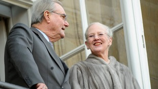 Queen Margrethe II and Prince Consort Henrik as the Queen celebrated her 40th Jubilee in 2012.