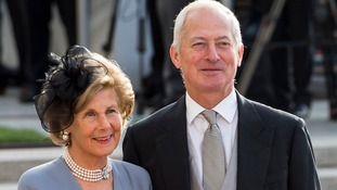 Marie, Princess of Liechtenstein and Hans-Adam II, Prince of Liechtenstein.