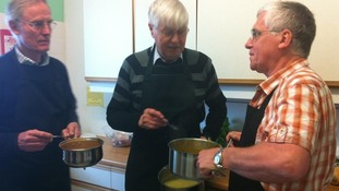 Cookery courses for older men proving popular