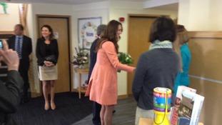 Kate's hospice visit