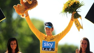 Wiggins became the first British rider in history to win the Tour de France in 2012