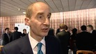 Picture of Lord Adonis, discussing elected Mayors