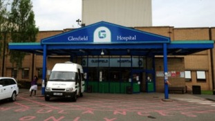 Glenfield Hospital in Leicester.