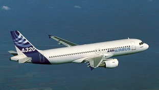 The Russian passenger plane was reported to be an Airbus A320.