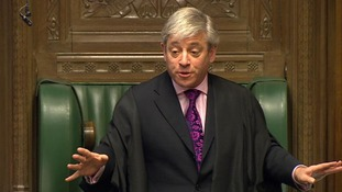 The speaker of the house had to appeal for calm in the House of Commons several times.