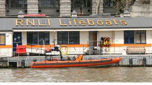 Lifeboat volunteers will be collecting donations for the charity.