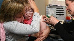 Two-year-olds will be offered the flu vaccine via a nasal spray from September