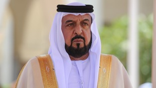 United Arab Emirates President Sheikh Khalifa Bin Zayed Al Nahyan