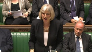 The Home Secretary Theresa May