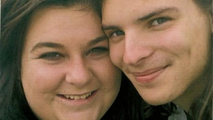 Lee-Anna Shiers, 20, pictured with her partner Liam Timbrell, 23, who also died.