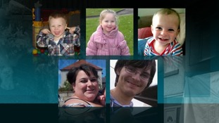 Five family members died in the blaze at the flat in Prestatyn, North Wales.