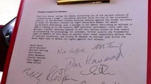 Hain EDM and signatures