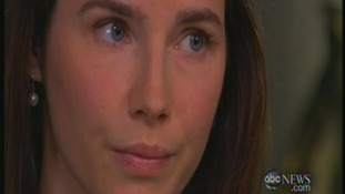Amanda Know during her emotional interview with ABC News