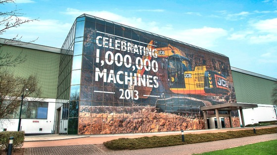 JCB are celebrating their millionth digger