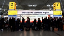 Airport capacity at some south-east England airports, including Stansted, is underused, according to a London Assembly report.