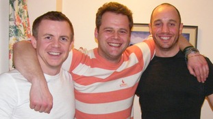 Pictured left to right: Philip Goodeve-Docker with expedition teammates Roan Hackney and Andy Norman.
