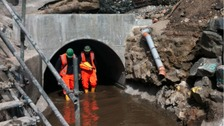Fixed culvert in Newburn