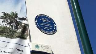 Alice Wheeldon plaque