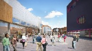 New Square development in West Bromwich opens in July 2013.