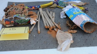 Opened and emptied fireworks found in Dzhokhar Tsarnaev's dormitory room