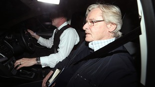 Bill Roache returns home