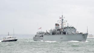 HMS Ledbury