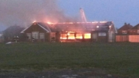 Investigations into a fire old library concludes that the cause to be deliberate