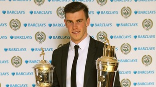 Gareth won PFA's Player of the Year and Young Player of the Year