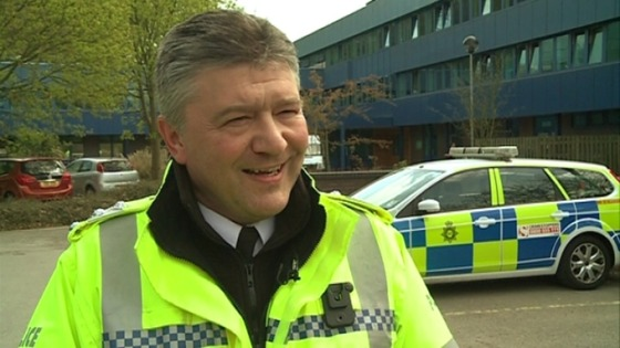 Chief Inspector Andy Charlton, Head of Roads Policing in Nottinghamshire.